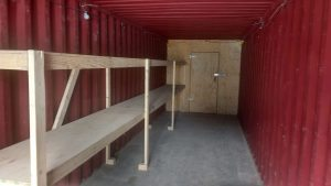 Shipping Container Winter Storage Options
