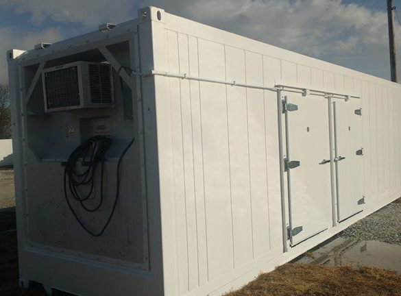 Portable Cold Storage Room: Our Freezer Meets Cooler