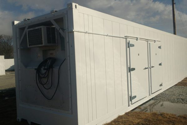 Freezer Meets Cooler: Our Portable Cold Storage Room