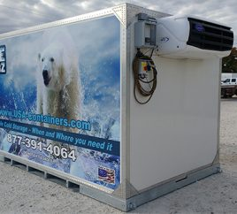 Our New Ice-Cubz Portable Refrigerated Containers are Here!