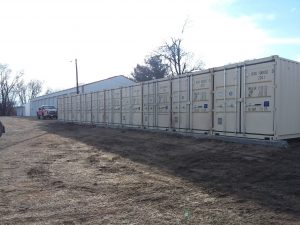 Shipping Containers as Self Storage Facilities