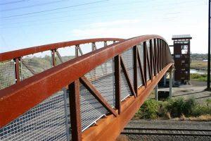 corten bridge