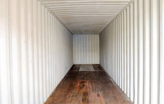 Inside of One of Our Custom Storage Containers in Missouri