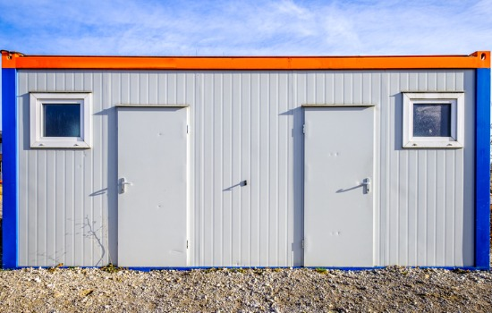 Shot Showcasing Special Uses for Shipping Containers in Iowa