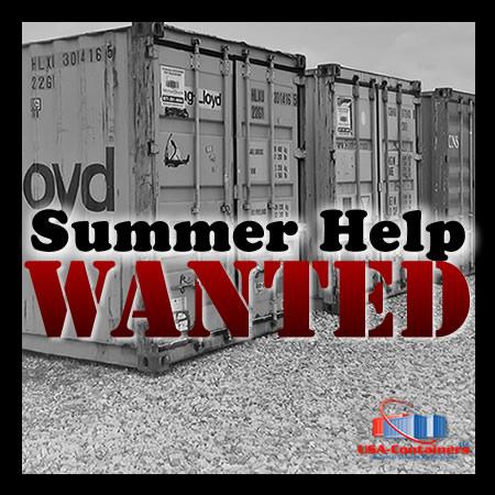 Full-Time Summer Shop Help