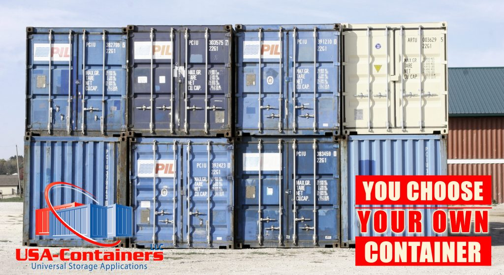 shipping container choose your own