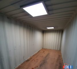 Skylights for Your Shipping Container